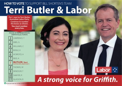 Terri Butler How-to-vote